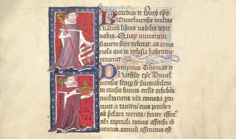 Durham Bishops Richard De Bury & Thomas De Hatfield