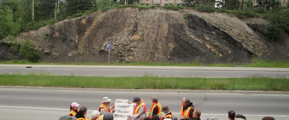 Deformation in the footwall of the Rundle Thrust, Canmore, Canadian Rockies