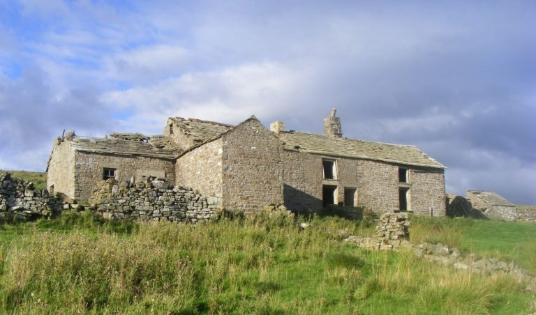 Spain's Field Farm in Weardale - before it's moved brick-by-brick to Beamish Museum