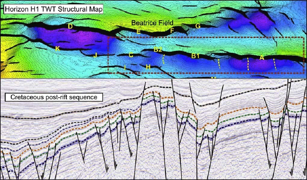 Seismic data from the Inner Moray Firth