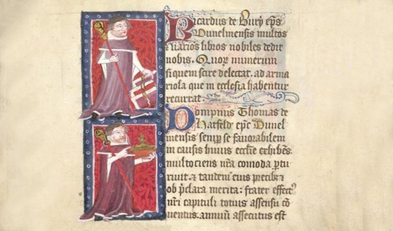 Durham Bishops Richard De Bury & Thomas De Hatfield
