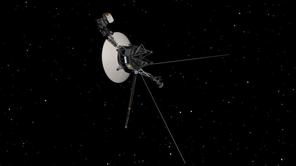 NASA's Voyager 1 spacecraft.