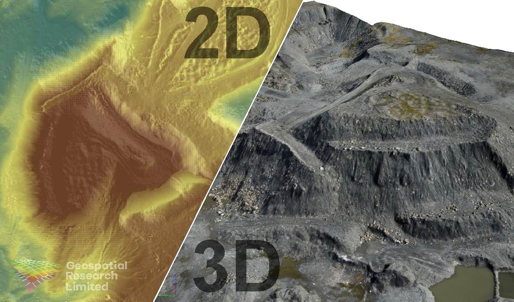 Surveying stockpile volumes – using UAV and GNSS to ensure high resolution, high spatial precision, and low cost.
