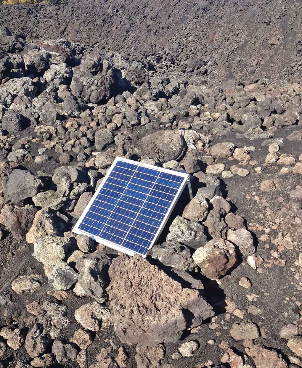 Our autonomous, solar-powered GNSS units regularly upload their data to our servers for post-processing.